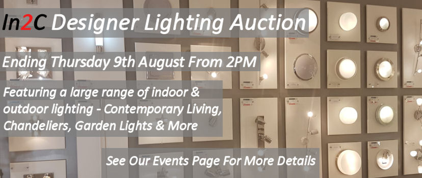 Ending Online Designer Lighting Auction With Contemporary
